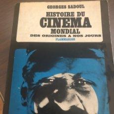 Libros: HISTOIRE DU CINEMA. Lote 215439331