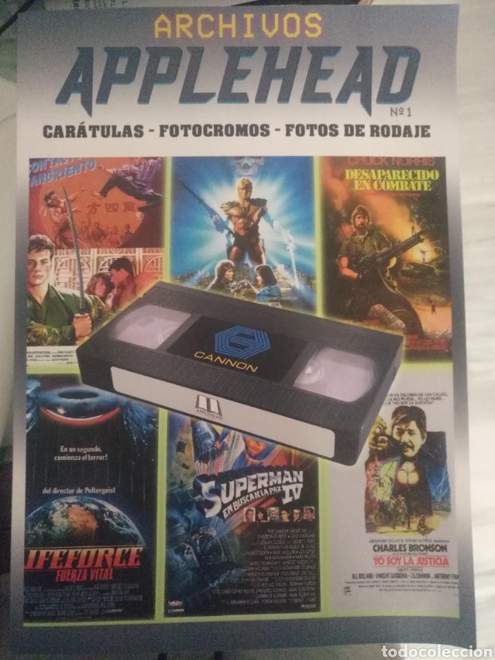 ARCHIVOS APPLEHEAD. CANNON FILMS (Libros Nuevos - Bellas Artes, ocio y coleccionismo - Cine)