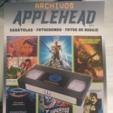 Libros: ARCHIVOS APPLEHEAD. CANNON FILMS. Lote 220651932