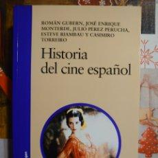 Libros: HISTORIA DEL CINE ESPAÑOL. Lote 221074086