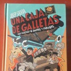 Libros: COMIC DIABOLO UNA CAJA DE GALLETAS JOSEP SALVIA UNA HISTORIA DE GUERRAS Y DIBUJOS. Lote 222673242