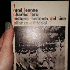 Libros: HISTORIA ILUSTRADA DEL CINE DE JEANNE, RENÉ. Lote 245003790