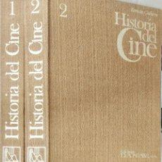 Libri: HISTORIA DEL CINE. ROMAN GUBERN. 2 TOMOS. EDICIÓN FOTOS COLOR Y B/N. Lote 249531065