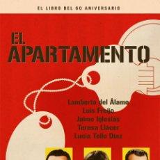 Livres: CINE. EL APARTAMENTO. EL LIBRO DEL 60 ANIVERSARIO - FREIJO / IGLESIAS (CARTONÉ). Lote 255481050