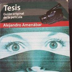 Libros: LIBRO TESIS GUIÓN PELÍCULA DE AMENÁBAR EDICIÓN DE 1998. Lote 260031210