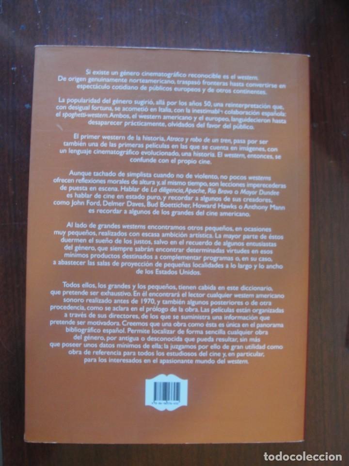 Libros: DICCIONARIO DIRECTORES DEL WESTERN / CASTILLO - t & b - SIN USO - OESTE - Foto 2 - 261561395
