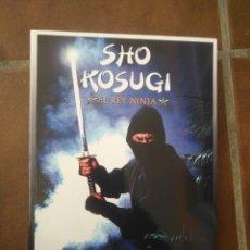 Libros: SHO KOSUGI EL REY NINJA. Lote 270349143