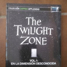 Libros: THE TWILIGHT ZONE. LA DIMENSION DESCONOCIDA. Lote 270349553