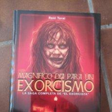 Libros: MAGNÍFICO DÍA PARA UN EXORCISMO. Lote 270351388