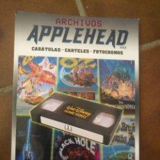 Libros: ARCHIVOS APPLEHEAD DISNEY. Lote 270353033