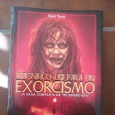 Libros: MAGNÍFICO DÍA PARA UN EXORCISMO. Lote 270355058