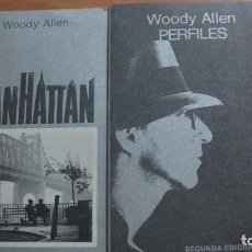 Libros: PACK WOODY ALLEN: MANHATTAN / PERFILES. TUSQUETS. Lote 271693918