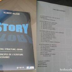 Libros: STORY, LOS PRINCIPIOS DE LA ESCRITURA DE UN GUIÓN. Lote 274622413