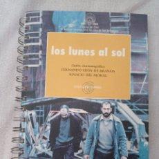 Libros: LOS LUNES AL SOL. GUIÓN. OCHO Y MEDIO.. Lote 279579188