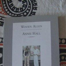 Libros: ANNIE HALL ALLEN, WOODY EDITORIAL: TUSQUETS., 1999. Lote 286865593