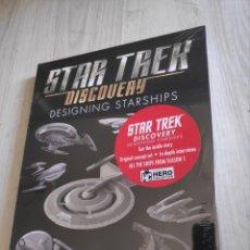 Libros: LIBRO STAR TREK DISCOVERY DESIGNING STARSHIPS NUEVO. Lote 287169688