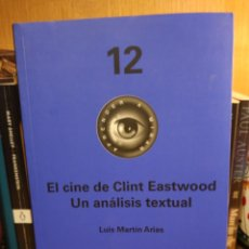 Libros: EL CINE DE CLINT EASTWOOD. UN ANÁLISIS TEXTUAL. Lote 288649478