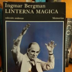 Libros: LA LINTERNA MÁGICA. INGMAR BERGMAN. Lote 289685628