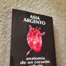 Libros: ASIA ARGENTO: ANATOMÍA DE UN CORAZÓN SALVAJE. Lote 290685528