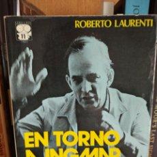 Libros: ROBERTO LAURENTI. EN TORNO A INGMAR BERGMAN. Lote 291967773