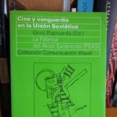 Libros: CINE Y VANGUARDIA EN LA UNIÓN SOVIÉTICA. Lote 292171628