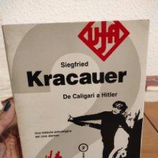 Libros: SIGFRIED KRACAUER - DE CALIGARI A HITLER. Lote 292335318