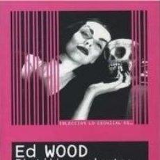 Libros: LO ESENCIAL DE... ED WOOD PLATILLOS VOLANTES Y JERSEYS DE ANGORA AUTOR: MIGUEL ÁNGEL PARRA Y DAVID G. Lote 295711308