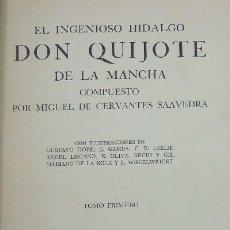 Libros de segunda mano: DON QUIJOTE DE LA MANCHA (4 TOMOS) (A/ LIT- 051). Lote 3862675