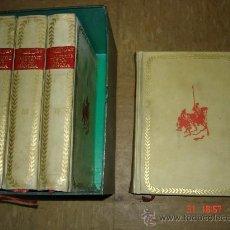 Libros de segunda mano: DON QUIJOTE DE LA MANCHA. EDICIÓN IV CENTENARIO. 4 TOMOS. Lote 26292295