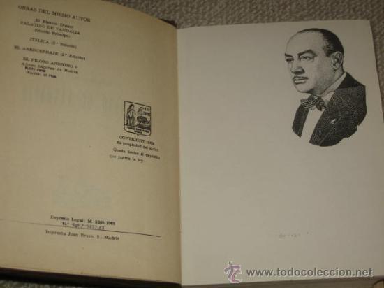 Libros de segunda mano: El bizarro doncel Palatino de Vandalia (novela caballeresca), Manuel López Flores, Ed. Clásica, 1963 - Foto 3 - 22743810
