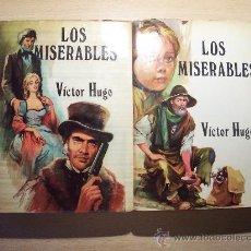 Libros de segunda mano: LOS MISERABLES ( VICTOR HUGO ) 2 TOMOS. Lote 11453141