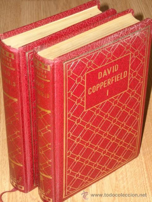 DAVID COPPERFIELD 2T POR CHARLES DICKENS DE EDITORIAL CASTRO EN MADRID 1971 (Libros de Segunda Mano (posteriores a 1936) - Literatura - Narrativa - Clásicos)