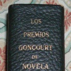 Libros de segunda mano: LOS PREMIOS GONCOURT DE NOVELA TOMO 1. Lote 26357963