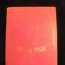 Libros de segunda mano: VICTOR HUGO. OBRAS INMORTALES. EDITORIAL EDAF. 1970 2130 PAG. Lote 26769688