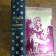 Libros de segunda mano: EL DECAMERON DE BOCCACCIO, PRIMERA EDICION. PLAZA & JANES, 1963.EDICION DE LUJO. Lote 18116262