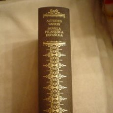 Libros de segunda mano: VVAA.: NOVELA PICARESCA ESPAÑOLA. Lote 18337674