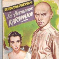 Libros de segunda mano: LOS HERMANOS KARAZOV - FEDOR DOSTOIESVSKY - COLECCION POPULAR LITARARIA Nº 81 1958 **. Lote 18673835