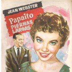 Libros de segunda mano: PAPAITO PIERNAS LARGAS - JEAN WESTER - COLECCION POPULAR LITERARIA Nº 96. Lote 19965994