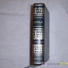 Libros de segunda mano: OBRAS ESTELARES DE ZOLA . FABULOSO EJEMPLAR. Lote 25551978