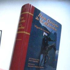 Libros de segunda mano: DON QUIJOTE / CERVANTES / EDICION CALPE 1996 ILUSTRADO POR SEGRELLES /. Lote 114476818