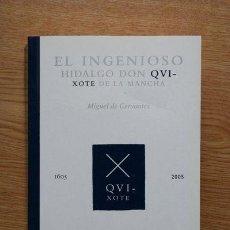 Libros de segunda mano: EL INGENIOSO HIDLAGO DON QUIXOTE DE LA MANCHA. MIGUEL DE CERVANTES. . Lote 19818590