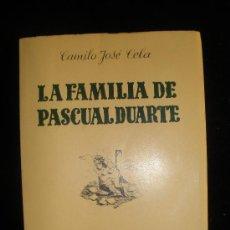 Libros de segunda mano: EDICION FASCIMIL LA FAMILIA DE PASCUAL DUARTE.CELA. EDICION 3000 EJEMPLARES. INTONSO.. Lote 26538540