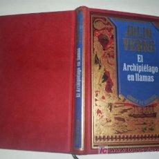 Libros de segunda mano: EL ARCHIPIÉLAGO EN LLAMAS JULIO VERNE CÍRCULO DE LECTORES 1994 RM45841. Lote 20672627