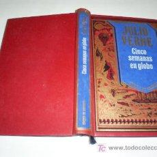 Libros de segunda mano: CINCO SEMANAS EN GLOBO JULIO VERNE CIRCULO DE LECTORES 1994 RM46056. Lote 21017426