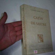 Libros de segunda mano: CAJÓN DE SASTRE CAMILO JOSÉ CELA ALFAGUARA 1969 AB42468. Lote 21051802