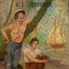 Libros de segunda mano: LA RESACA - R. L. STEVENSON - EDITORIAL REGUERA - 1ª EDICIÓN - 1945. Lote 21144943
