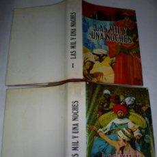 Libros de segunda mano: LAS MIL Y UNA NOCHES EDICIÓN ILUSTRADA CON VARIOS DIBUJOS A PLUMA 2 TOMOS PETRONIO 1973 RM46426. Lote 21286693