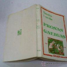 Libros de segunda mano: PROSAS GALEGAS FLORENTINO L. CUEVILLAS GALAXIA GALICIA 1971 RM39590. Lote 22124587