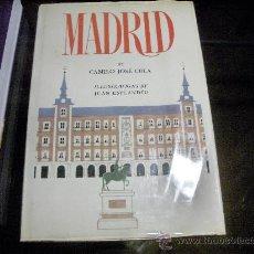 Libros de segunda mano: CAMILO JOSE CELA - MADRID - ILLUSTRATIONS BY JUAN EXPLANDÍU - 3000 EJEMPLARES 1ª EDIC. EN INGLES. Lote 27406576