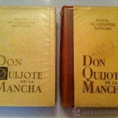Libros de segunda mano: CERVANTES - DON QUIJOTE DE LA MANCHA - LABOR 2 TOMOS. Lote 23790115